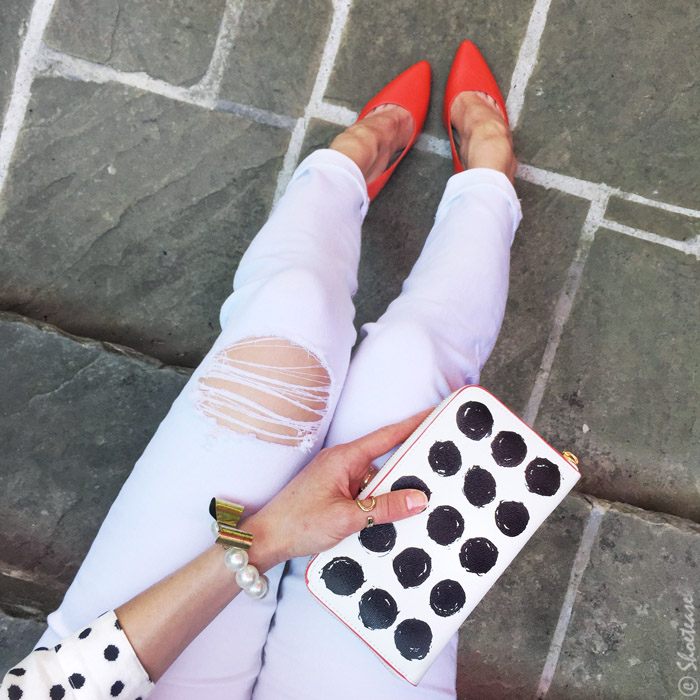 Coral Shoes Outfit