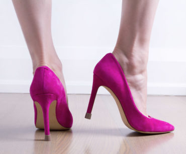 How to Stop Heels from Clicking