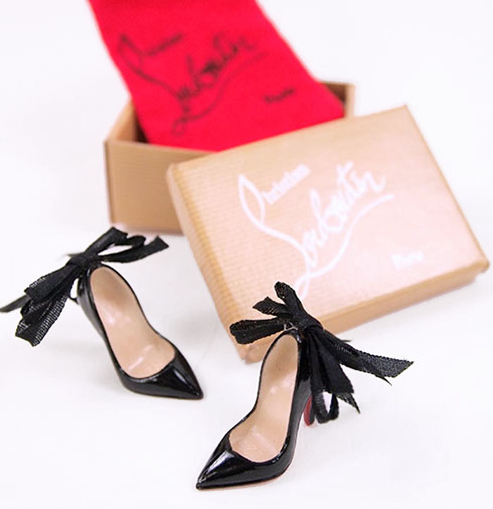 Designer Barbie Doll Shoes