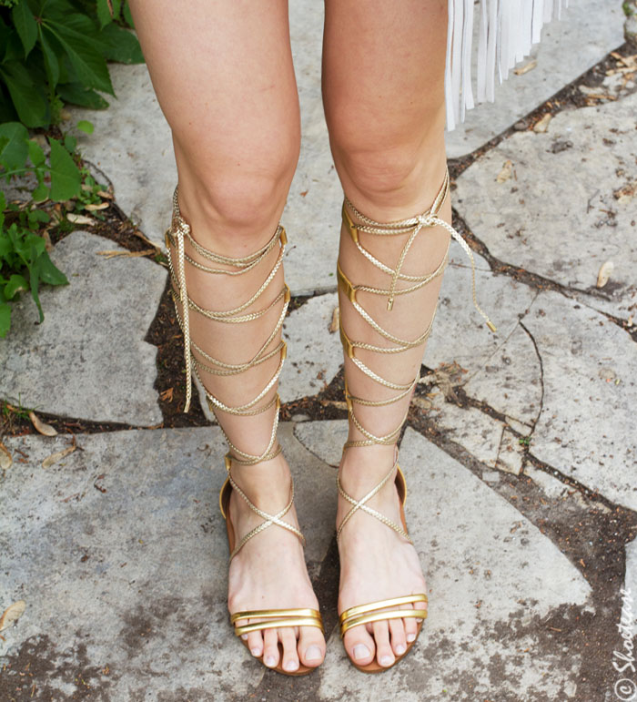 e841929abe2 How to Wear Gladiator Sandals this Summer