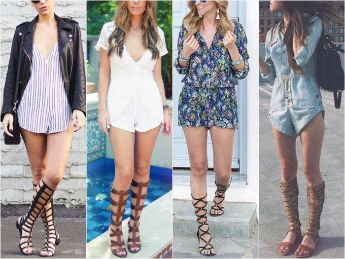 3b1d18dfe88397 How to Wear Gladiator Sandals this Summer