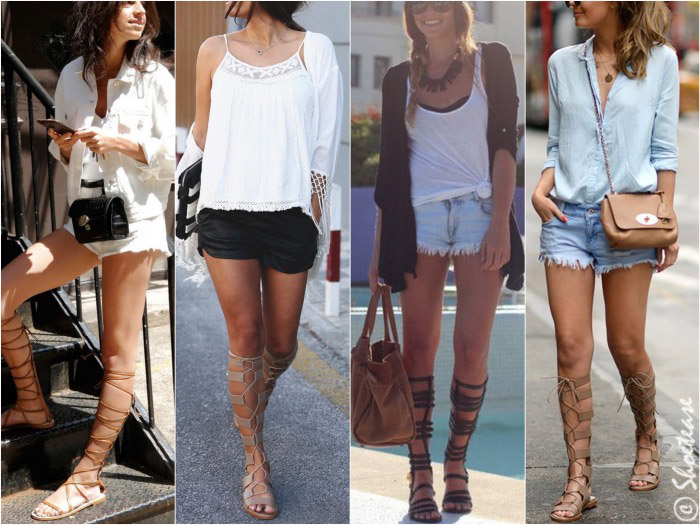 16dd94f0afec How to Wear Gladiator Sandals this Summer