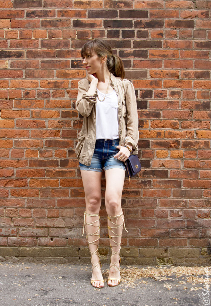 How to Wear Gladiator Sandals this Summer