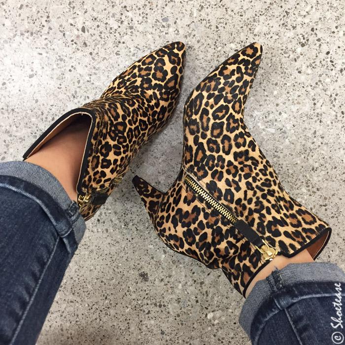 Dixie outlet shoe shopping leopard boots