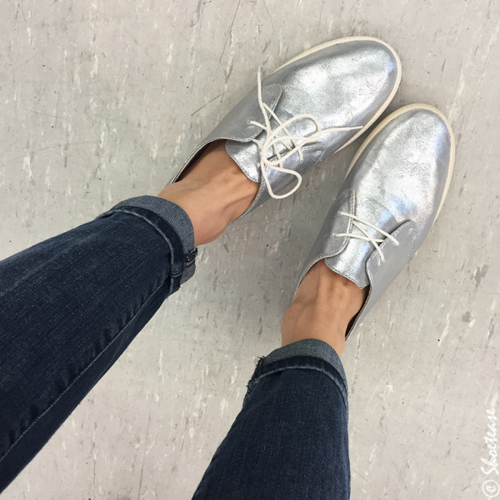 Dixie outlet shoe shopping silver brogues