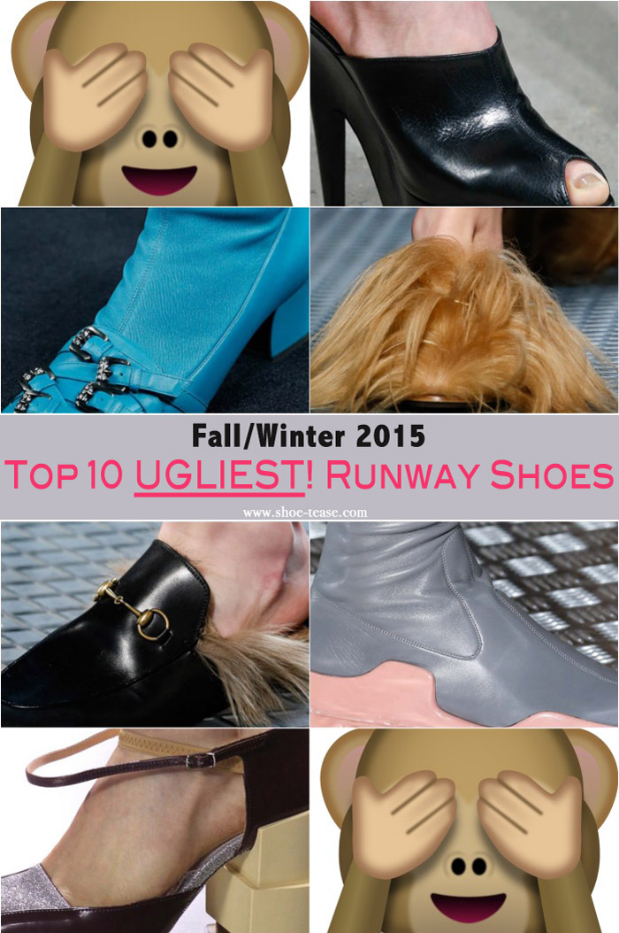 The Ugliest Shoes from the Fall 2015 Runways