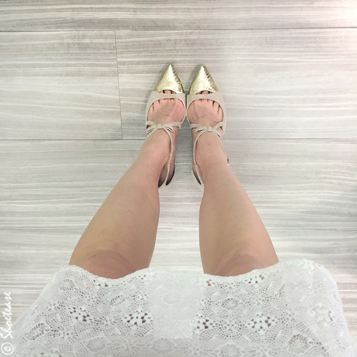 Ways to take a shoefie above