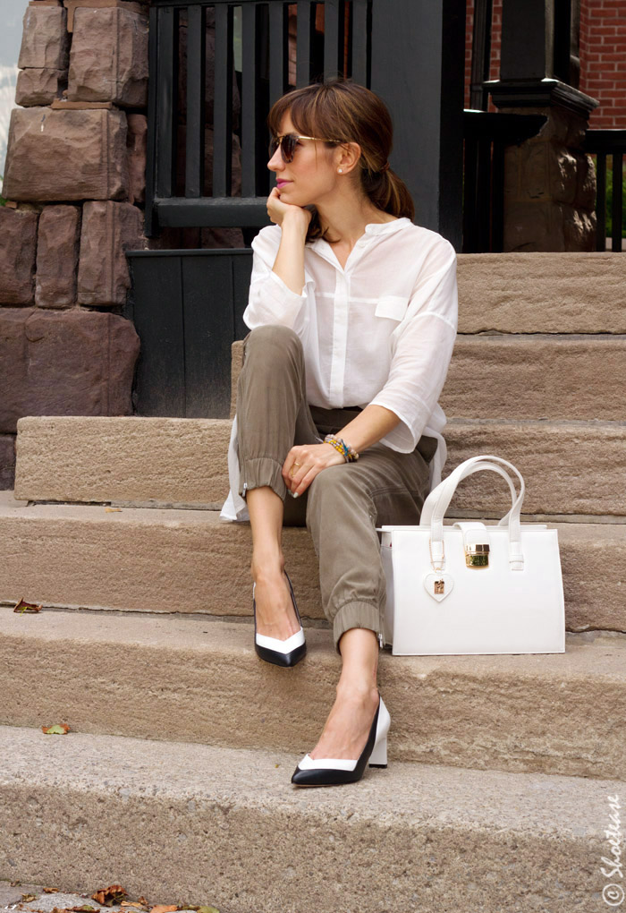 9to9 Black And White Pumps Styling With Zvelle