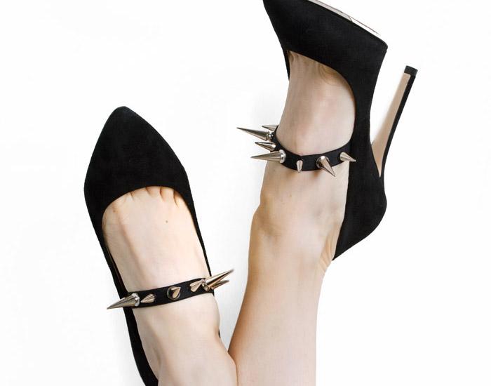 detachable shoe straps slider