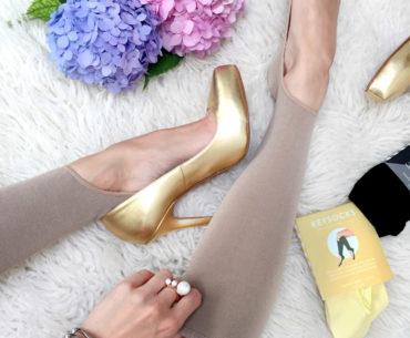 No show socks for flats heels