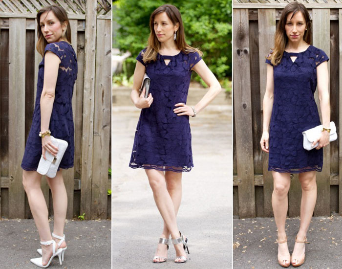 What Color Shoes To Wear With A Navy Dress Dilemma Solved
