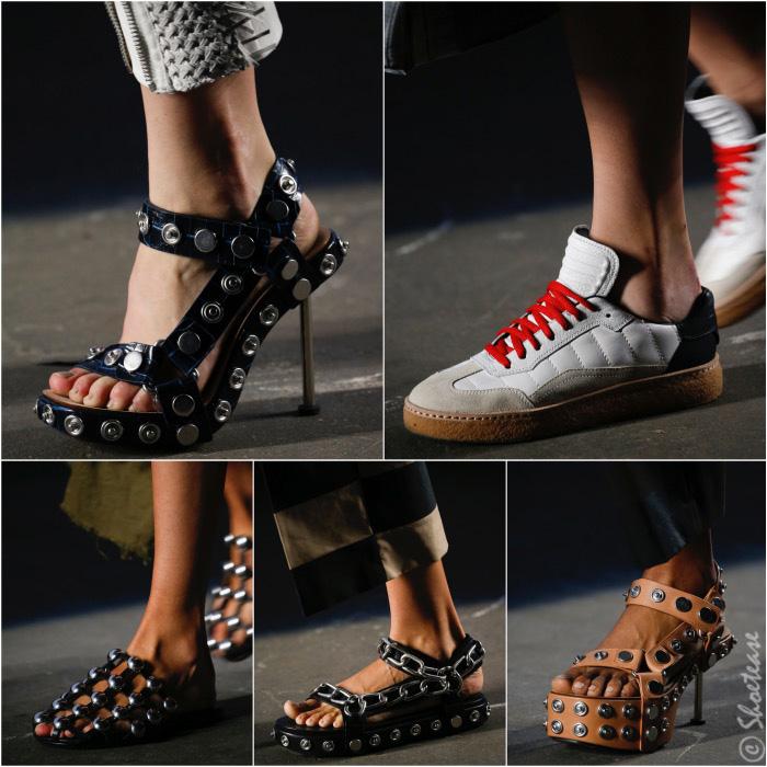 Alexander Wang Spring 2016 Shoes