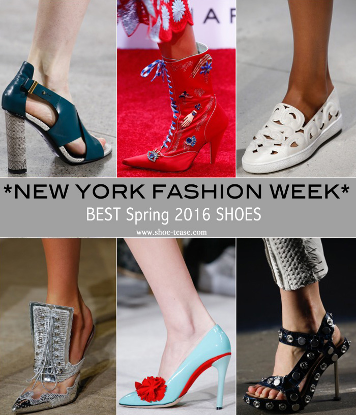 bab27f166231 Best Spring 2016 Shoes from New York Fashion Week