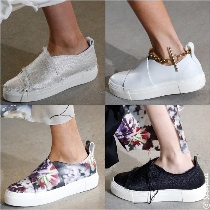 Calvin Klein Collection Spring 2016 Shoes