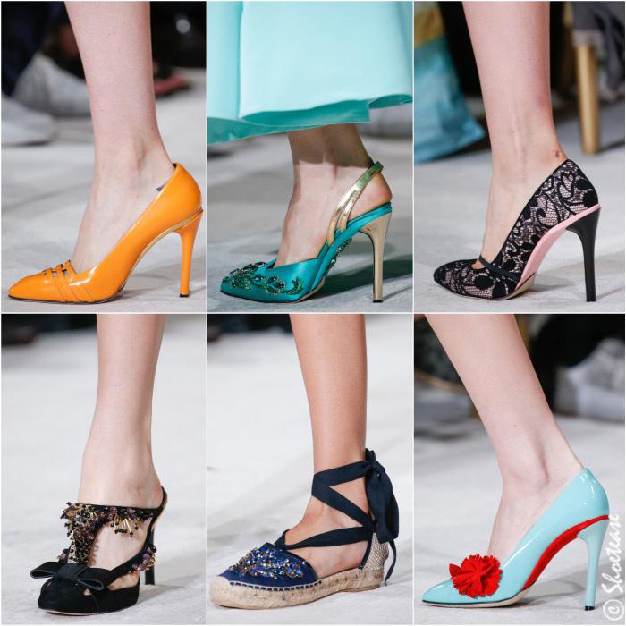 Oscar De la Renta Spring 2016 Shoes
