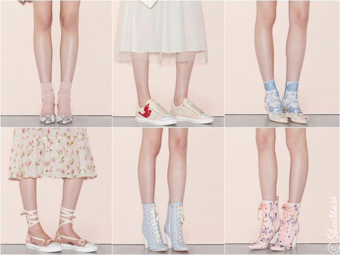 RED VAlentino Spring 2016 Shoes