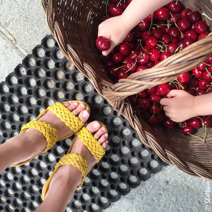 Shoefie Props Babies cherries