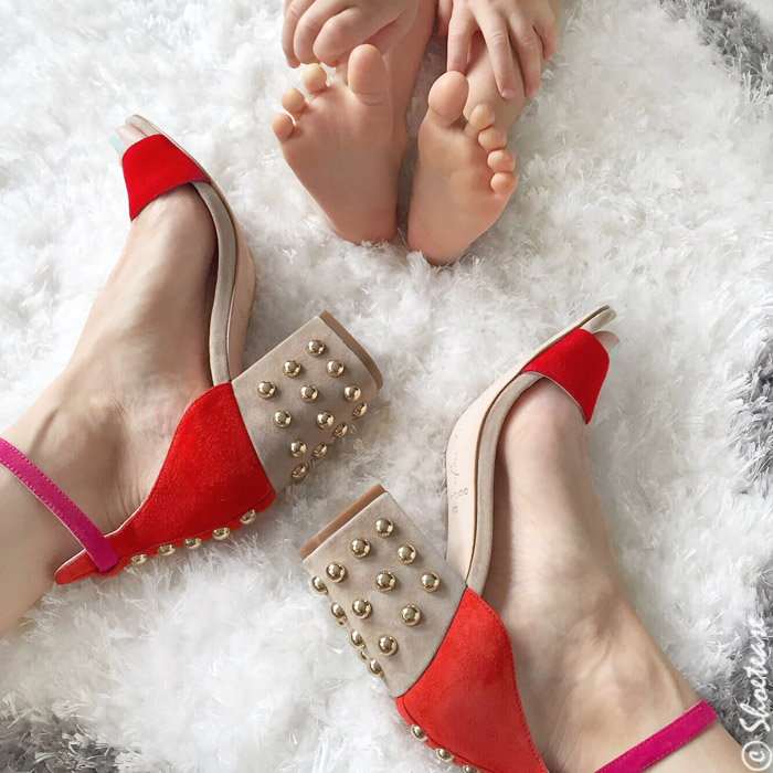 Shoefie Props Baby Feet