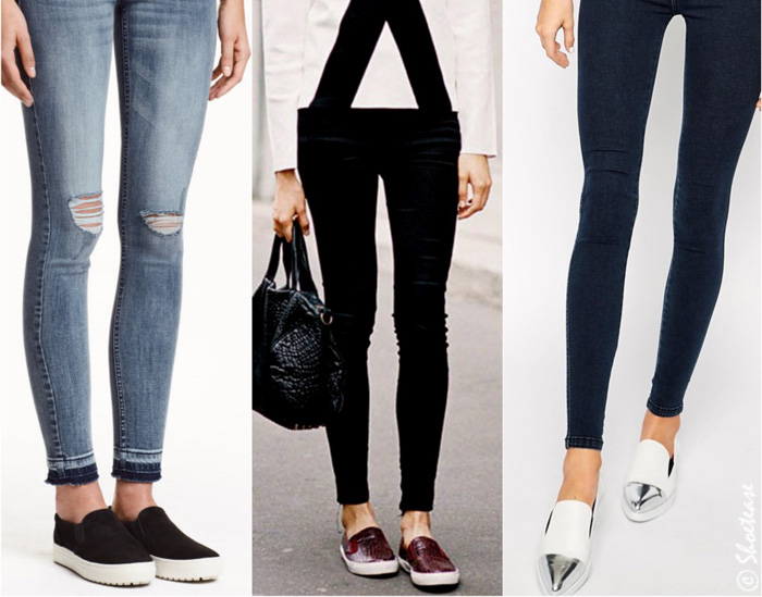 Images Of Shoes To Wear With Skinny Jeans