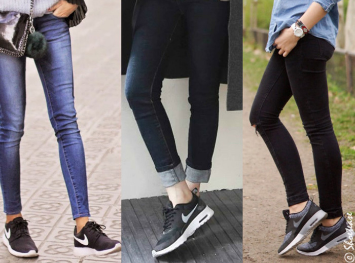 Sneakers with Skinny Jeans Air Max