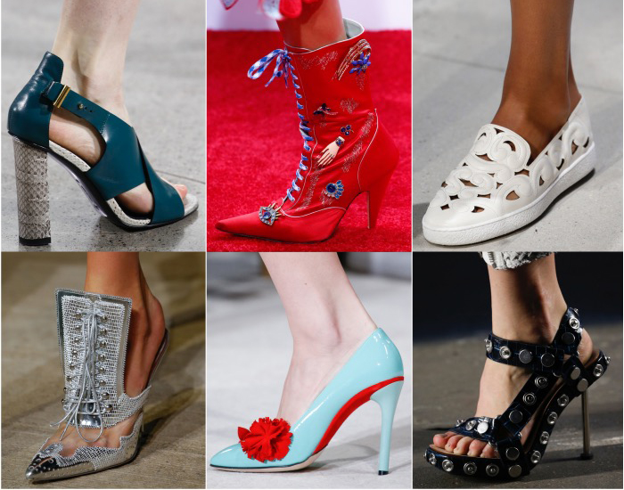Best 2016 Spring Shoes Trends NYFW