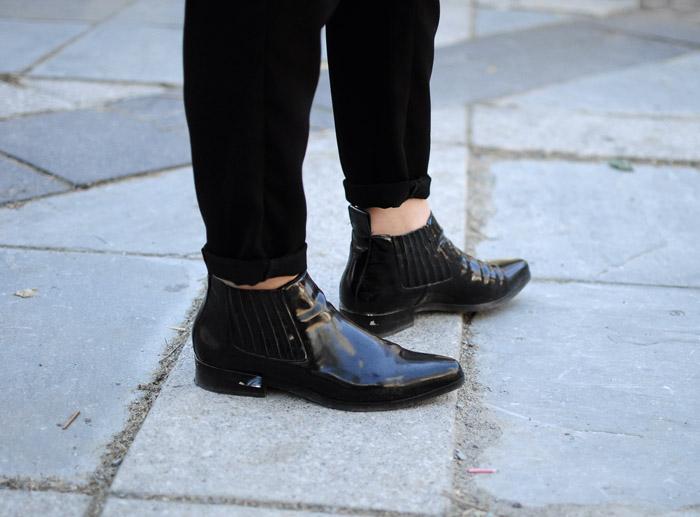 Toronto Fashion Week Chelsea Boots