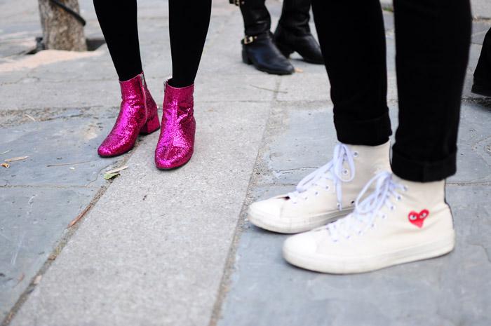 Toronto Fashion Week Street Style Shoes 1