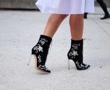 Toronto Fashion Week Street Style Shoes