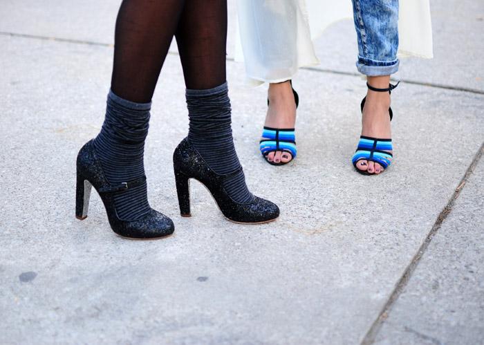 Toronto Fashion Week street style heels