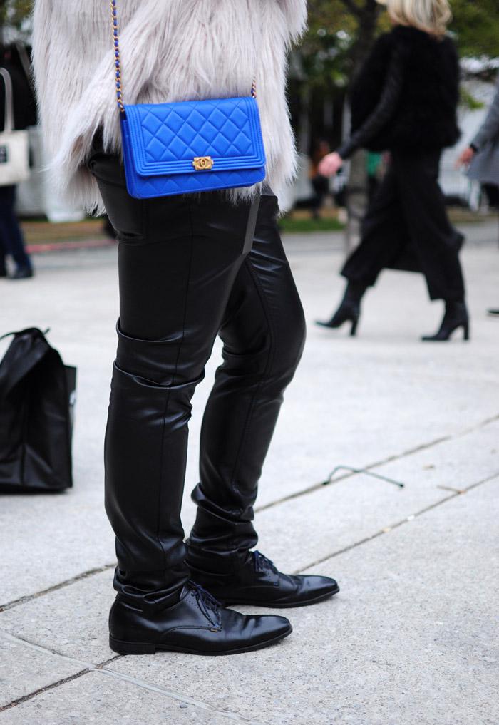 Toronto fashion week street style Day3i