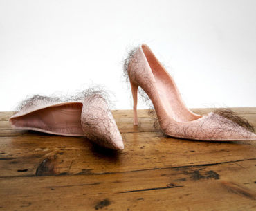 Ugliest Shoes Ever - Hairy Shoes