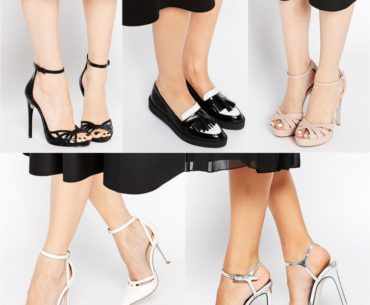 What color shoes to wear with black dress