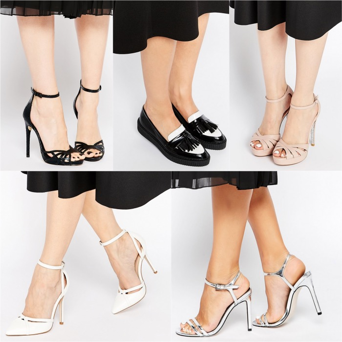 5e50cebacaa What Color Shoes to Wear with a Black Dress  ShoeTease Answers!