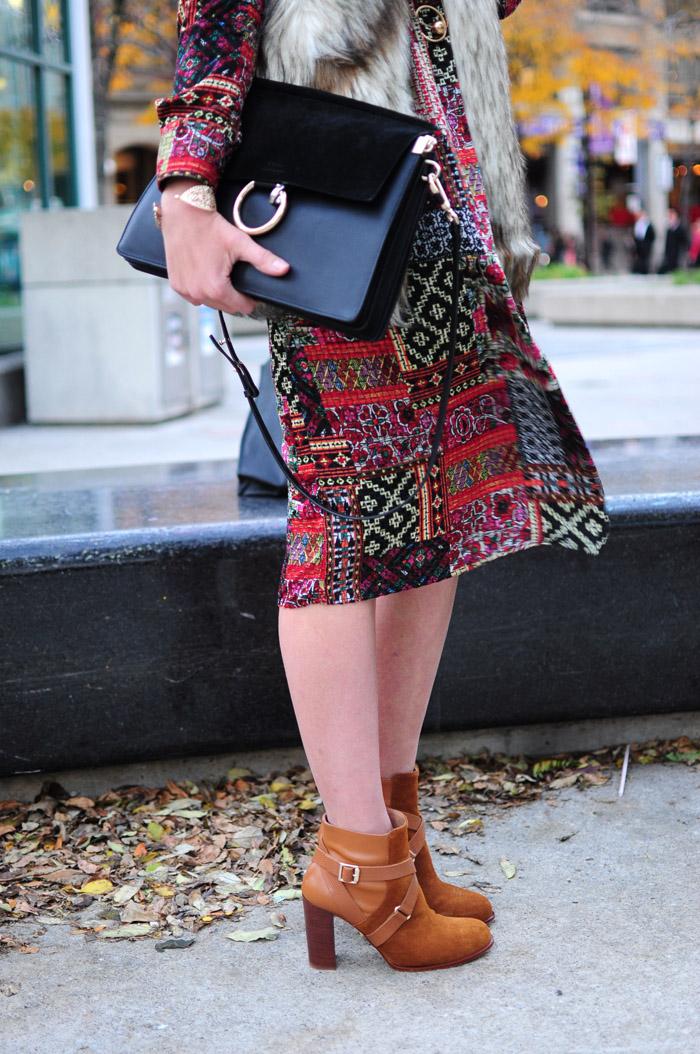 toronto fashion week street style boho shoes