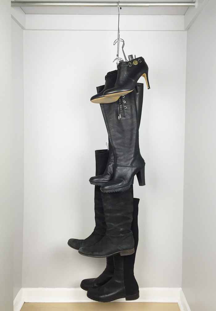 Boot Organizer with Boot Hangers 2