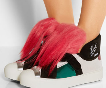 Karlito Pink Hair Sneakers