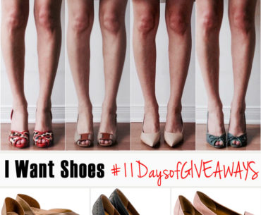 I Want Shoes Giveaway