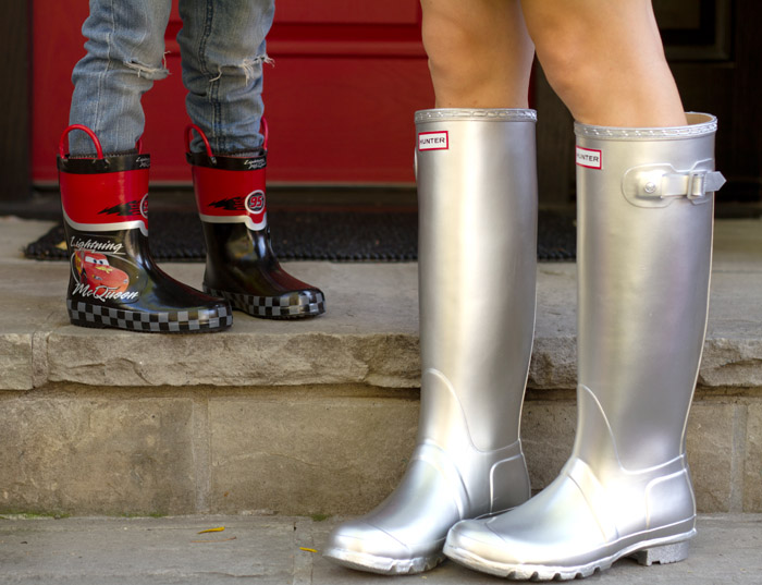 Mommy and Me Shoes Rain Boots