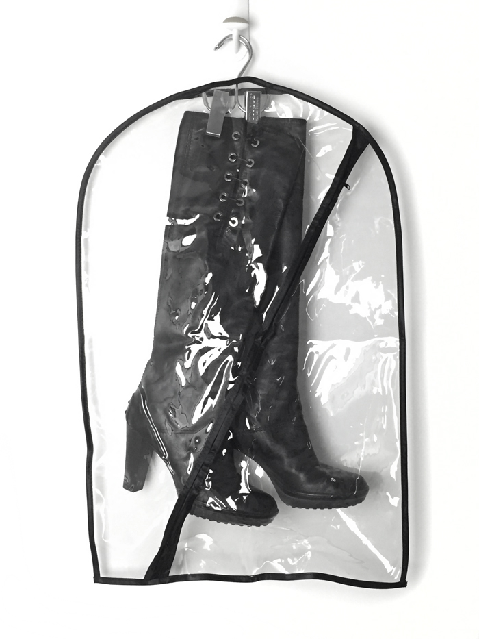 hanging boot bag