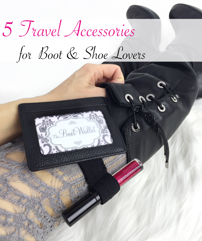Travel Accessories - Boot Wallet