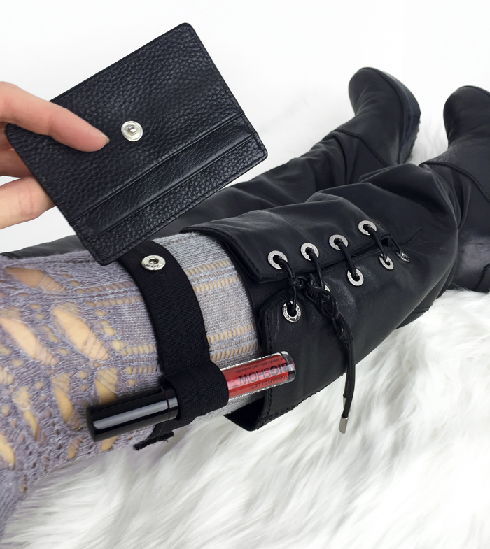 travel accessories boot wallet