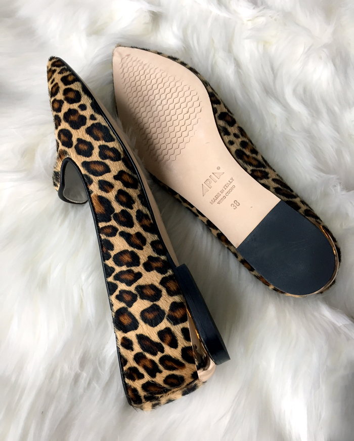 Leopard Print Loafers for Sale