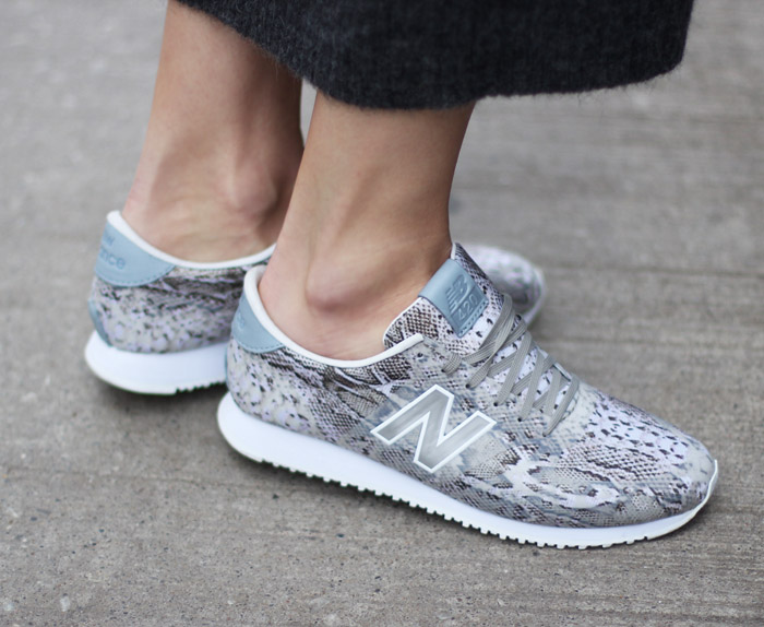 Cozying Up To New Balance 420 Animal Print Sneakers
