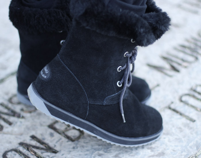 EMU Australia waterproof sheepskin boots slider
