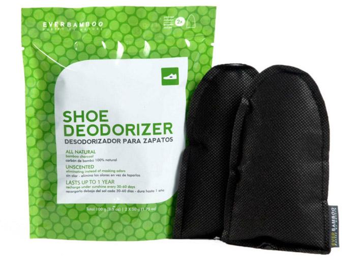 natual shoe deodorizer bamboo charcoal