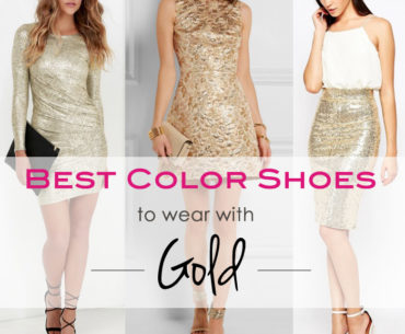 Get Golden! What Color Shoes to Wear with a Gold Dress or Skirt