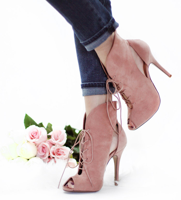 rose quartz shoes