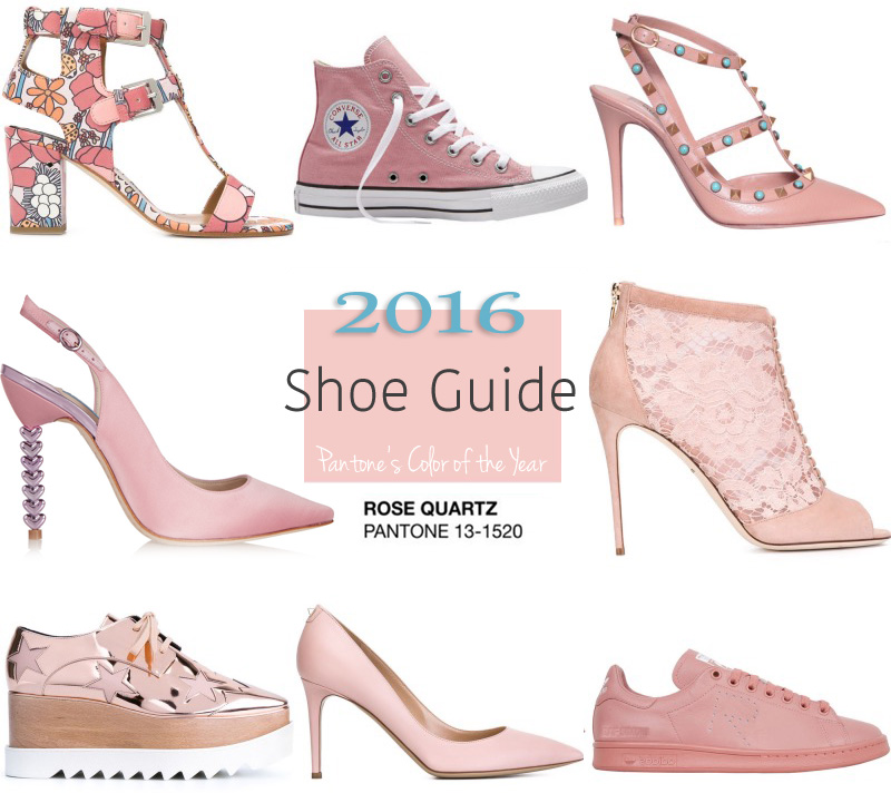 rose quartz shoes guide
