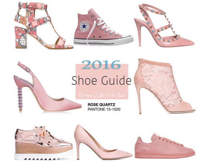 rose quartz shoes pantone slider