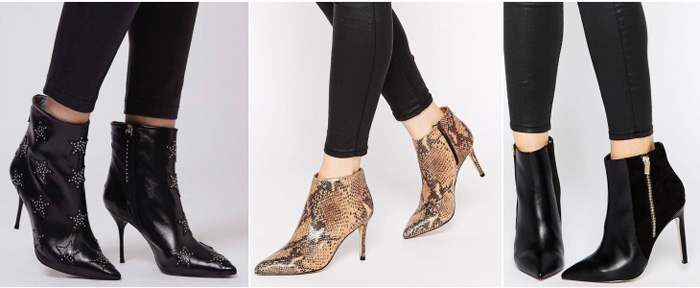 stiletto ankle boots with skinny jeans